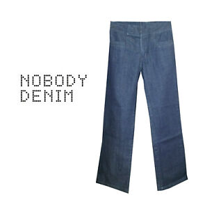Very cool NOBODY High Waisted Wide Leg Jeans - Size 26