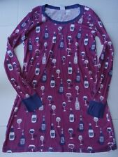 Munki Munki Nite Nite XL Women Nightgown Nightshirt Purple Wine Champagne PJ