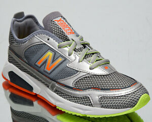 New Balance X-Racer Men's Steel Silver Metallic Casual Lifestyle Sneakers Shoes