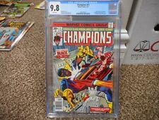 Champions 11 cgc 9.8 Marvel 1977 Black Goliath Hawkeye Ghost Rider MINT WHITE pg