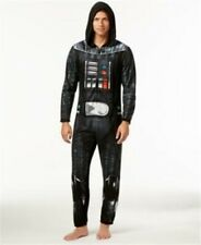 Star Wars Men's M One piece Darth Vader Hooded Pajamas Briefly Stated Costume