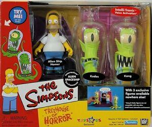 The Simpsons Treehouse Of Horror II Kang Kodos Homer Alien Spaceship Playmates