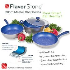 Danoz Flavorstone 28cm Master Chef Series Cookware Set + Authentic✓