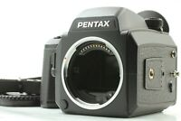 【N MINT】 Pentax 645 NII N II Medium Camera Body w/ 120 Film Back From Japan