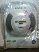 iCraig Digital stereo speaker system -Plays and charges all dockable iPod models