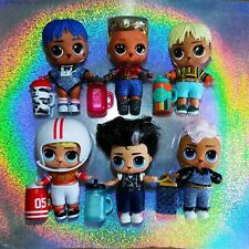 Lol Dolls Boys #8 ❤💙 BUNDLE X6 💙❤& accessories Combine Postage(CHECK MY LIST)