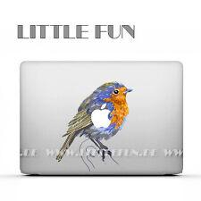 "Macbook Aufkleber color Sticker Skin Decal Macbook Pro 13"" 15"" Air 13"" Bird C12"