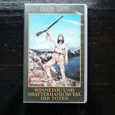 KARL MAY - WINNETOU UND SHATTERHAND IM TAL DER TOTEN  - VHS