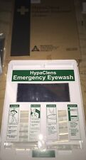 Emergency Eyewash Eye Wash 20ml Pod Station Wall Panel with mirror