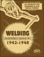Chevy Car Body Welding Assembly Manual 1948 1947 1946 1942 Fisher Chevrolet