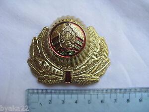 n°30 insigne russe cocarde CHAPKA casquette Biélorussie  képi