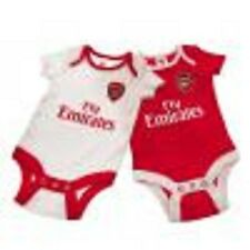 Official Arsenal F.C. 2 x Bodysuit 0- 3 months- new with tags
