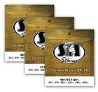 SIT Strings GB1252 Light Golden Bronze 80/20 Acoustic (3-PACK) for sale