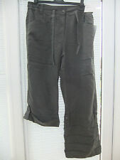 BNWT - ANN HARVEY TROUSERS SIZE 26 - BUTTON UP LEGS TO MAKE CROPS