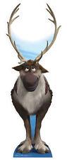 Sven Disney La Reine Des Neiges affiche debout grandeur nature découpée Renne