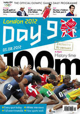 * OLYMPIC GAMES DAY 9 PROGRAMME LONDON 2012 *