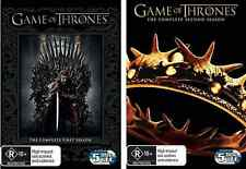 Game Of Thrones Season 1 & 2 : NEW DVD