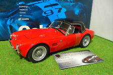 SHELBY AC COBRA 289 Roadster hard top de 1963 rouge red au 1/18 EXOTO RLG 18129