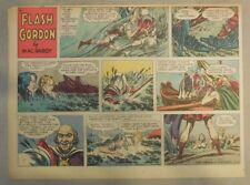 Flash Gordon Sunday Page by Mac Raboy from 5/8/1955 Half Page Size