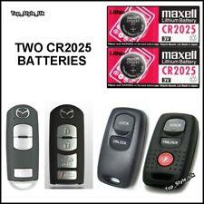 2 Remote Key Fob Batteries For Mazda 6 CX Visteon 2/3/4/5 Button Key Remote C32