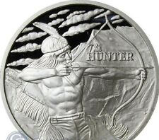 2017 ~ 1~OZ ~.999 SIVER ~ THE HUNTER ~ EXCLUSIVE ROUND ~ PROOF~LIKE ~ $9.99 ~BID