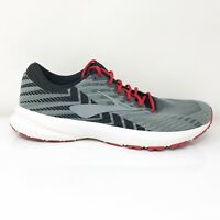 Brooks Mens Launch 6 1102971D071 Gray Black Running Shoes Lace Up Size 10 D
