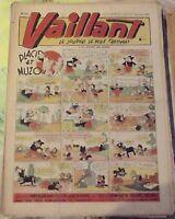 VAILLANT N°111 1947 Placid & Muzo  la Carotte de l'Ane Mule