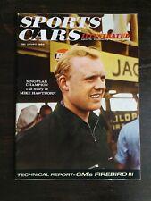 Sports Cars Illustrated January 1959 Fiat 1100 - Pontiac Firebird -Mike Hawthorn