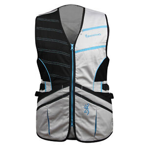 Browning WMNS Ace Shooting Vest (XL)- Black/Teal