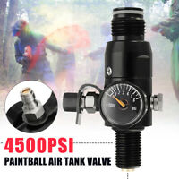 Paint Valve Ball Regulator 4500psi HPA Air Tank Output 1800psi 5/8''-18UNF
