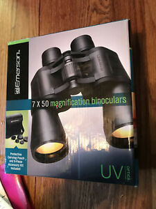 Emerson 7 x 50 magnification Binoculars with carry pouch