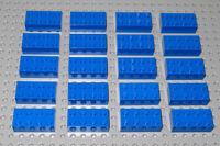 LEGO Bricks   2x4 x 20 pcs - Blue - Brand New