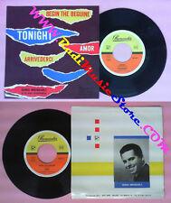 LP 45 7'' GINO MESCOLI Tonight Arrivederci Begin the beguine Amor no*cd mc dvd