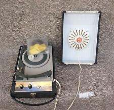 Ancien tourne disque Monarch Farandole pour pièces ou à réparer déco vintage1965