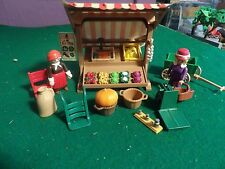 Playmobil 5341 Gemüsestand  Villa Nostalgie Rosa Serie 5300 ,5305