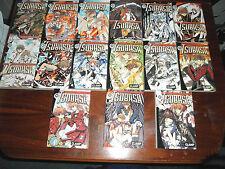 Tsubasa: Reservoir Chronicle Clamp English Manga 1-17 Missing 11 & 13 Near Mint