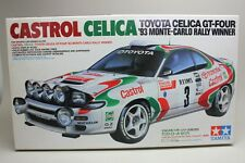 NEW TAMIYA 1/24 CASTROL TOYOTA CELICA GT-FOUR 93 MONTECARLO RALLY Model Kit #125