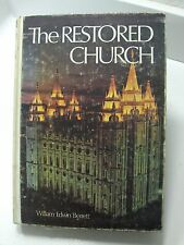 THE RESTORED CHURCH of Jesus Christ It's Doctrines & Ordinances Berrett Mormon
