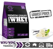 10KG  -   WHEY PROTEIN ISOLATE / CONCENTRATE - VANILLA - WPI WPC POWDER