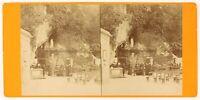 Pesanti Grotte Foto Viron Stereo PL56L2n Vintage Albumina