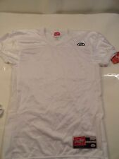 Rawlings Youth Football Jersey White Large Practice YF9055FI-W-90