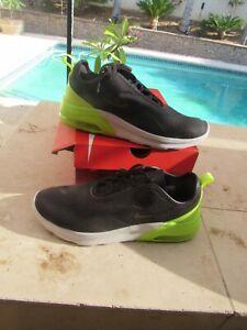 Men Nike Air Max Motion SZ9 A00266 014 Cross Training  Shoes Oil Dark Grey Volt
