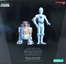 Kotobukiya Star Wars R3-a2 With K-3po Celebration Anaheim ARTFX