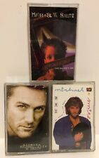 Christian Cassettes Lot of 3 Michael W Smith,Big picture,Live the life,Go West