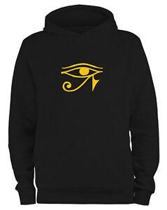 Styletex23 Kapuzenpullover Herren Auge des Ra Horusauge