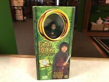 "2001 ToyBiz  Lord Of The Rings FRODO The Fellowship Of The Ring 12"" SCA Doll MIB"