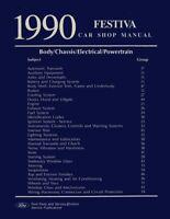 1990 Ford Festiva Shop Service Repair Manual