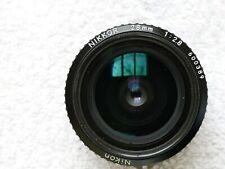 Nikon NIKKOR 28mm f2.8 AI lens