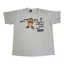 Tasmanian Devil I don't #*&%&! Around Short Sleeve Tshirt | 90s Looney Toons