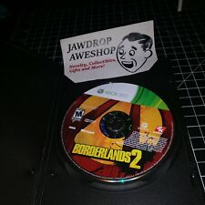 BORDERLANDS 2 XBOX 360 (DISC ONLY) USED, TESTED, WORKING. XBOX 360 GAME ACTION